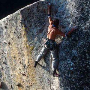 Veranschaulichung von Risikomanagement am Beispiel eines Kletterers